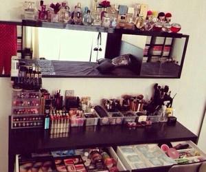 makeup, make up, and perfume image