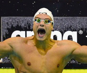 francais, swim, and florent manaudou image