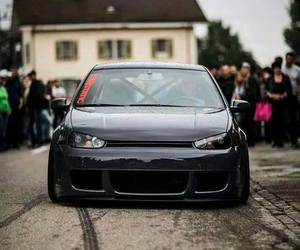 golf, vw, and mk4 image