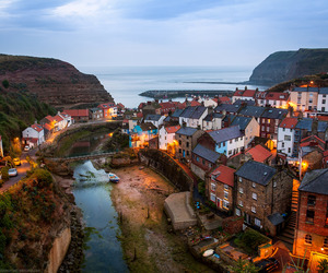 whitby, yorkshire, and england image