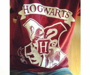 hogwarts, harry potter, and outfit image