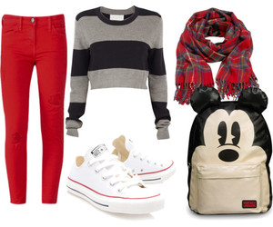 backpack, casual, and converse image