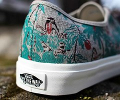 nature, vans, and floral image