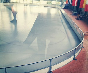 ice, sport, and iceskating image