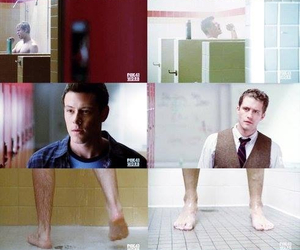 cory monteith, matthew morrison, and finn hudson image