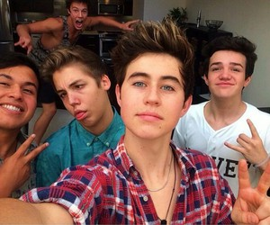 boys, nash grier, and aaron carpenter image