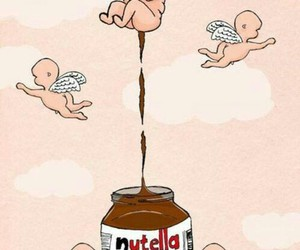 nutella, angel, and funny image