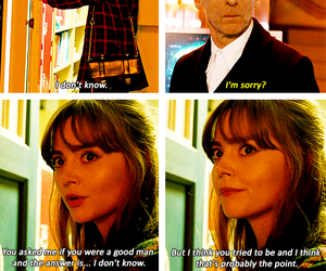 doctor who, twelfth, and clara oswald image
