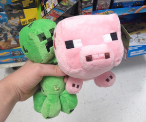 adorable, creeper, and pig image