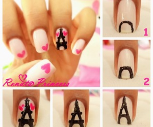 nails, diy, and paris image