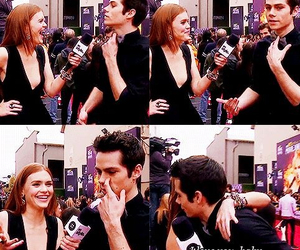 holland roden, dylan o'brien, and teen wolf image