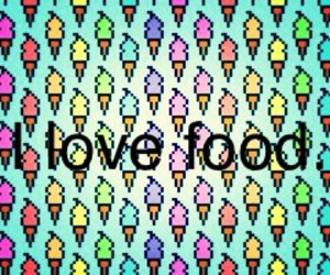 food, i love, and wallpapers image