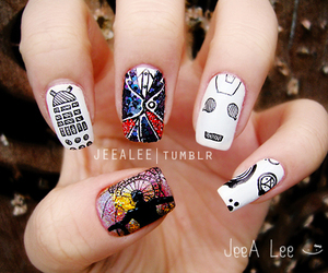 12, cyberman, and Dalek image