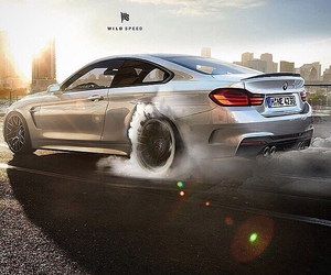 bmw, grey, and m4 image