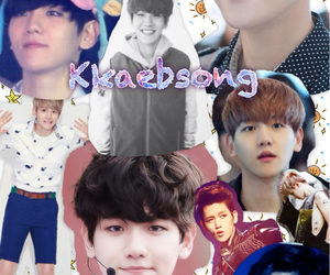 Collage, exo, and korean image