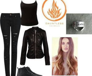 outfit and divergente image
