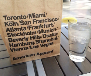 american apparel, carefree, and vogue image