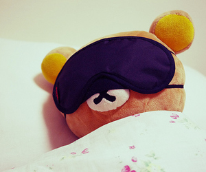 rilakkuma, sleep, and kawaii image