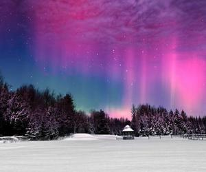 sky, nature, and snow image