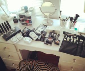 makeup, make up, and pretty image