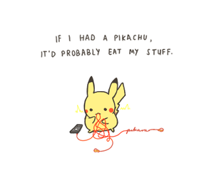 funny, pet, and pikachu image