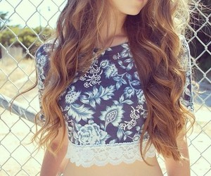hair and summer image