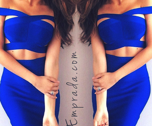 blue, calgary, and dress image