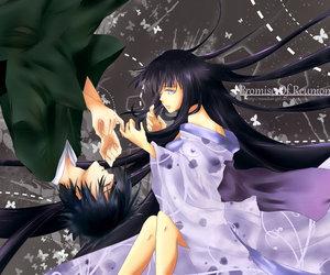 art, sasuke, and deviant image