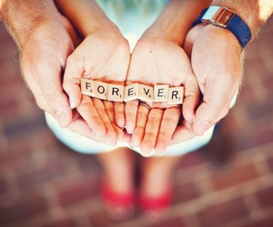 forever, love, and hands image