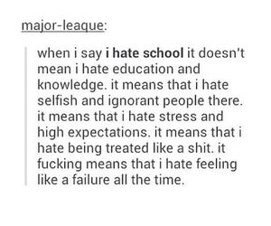 failure, quotes, and school image