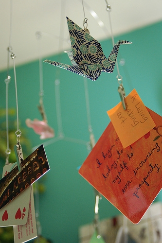 flickr, inspiration, and paper crane image