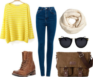 clothes, fall, and fashion image