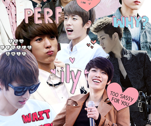 Collage, infinite, and kpop image