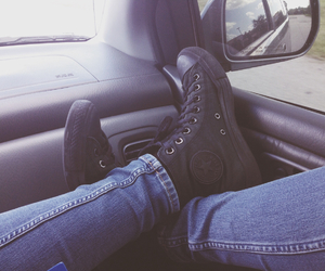 black, chill, and grunge image