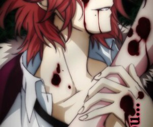 diabolik lovers, anime, and laito image