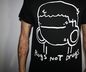 Plugs, drugs, and tattoo image