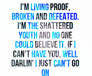 Lyrics, the downtown fiction, and living proof image