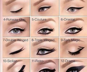 beautiful eyes, diy, and eyes image