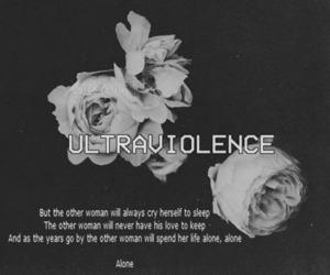 Lyrics, quote, and ultraviolence image