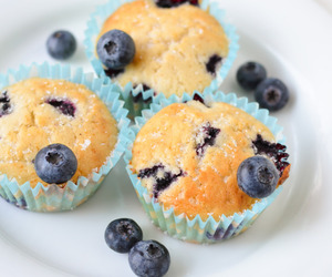 blueberry, Cinnamon, and muffins image