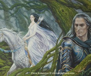 tolkien, silmarillion, and eol image
