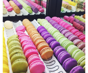 colorful, macaroons, and tumblr image