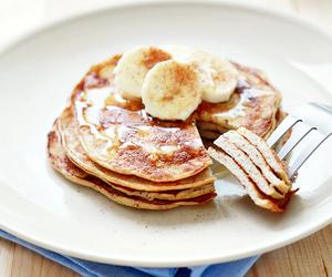 FRUiTS, pancakes, and banana image