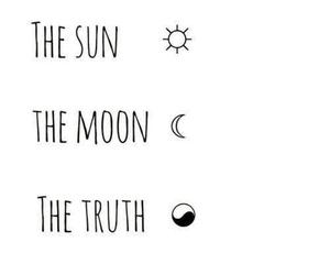 moon, sun, and teen wolf image