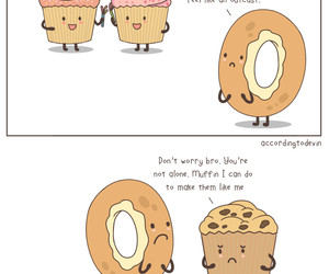 cupcakes, donuts, and muffin image
