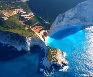 Greece, lefkada, and blue image