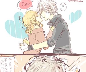 anime, kiss, and diabolik lovers image