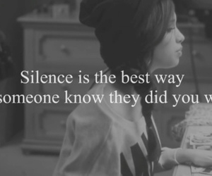 silence, quotes, and wrong image