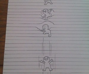 creative, sheet, and doodle image