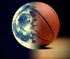 ball, moon, and basket image
